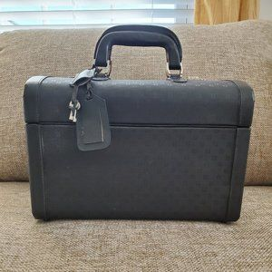 Black Authentic Vintage Fendi Vanity Train case